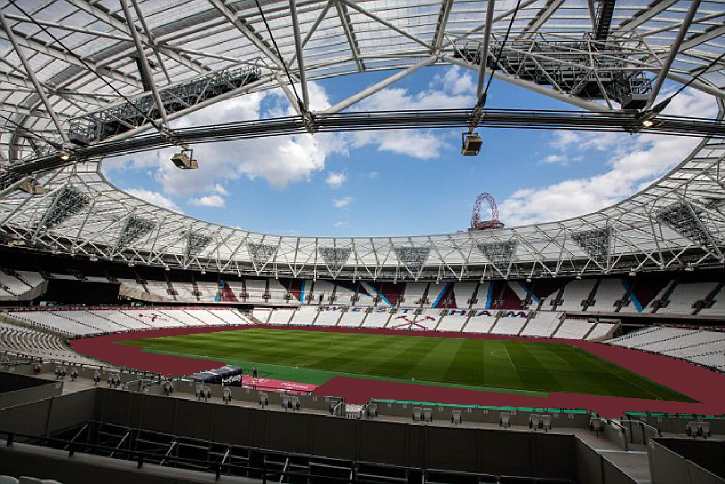 West Ham To Carpet London Stadium Claret Claretandhugh